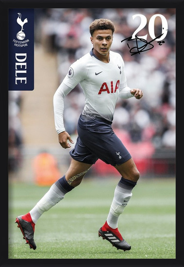 Plakát  Tottenham - Alli 18-19