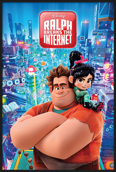 Plakát Raubíř Ralf - Ralph Breaks the Internet