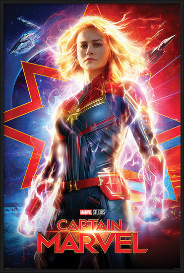 Plakát  Captain Marvel - Higher, Further, Faster