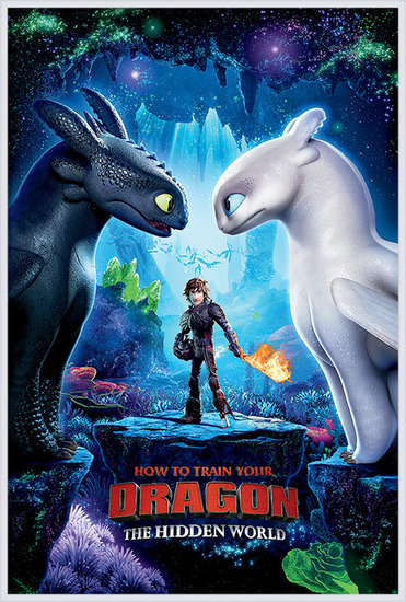 Plakát  Jak vycvičit draka 3 - One Sheet