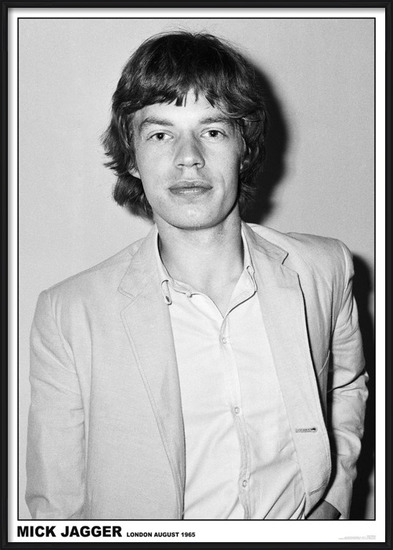 Plakát  Mick Jagger - Rediffusion TV Studio, Wembley, London 27th August 1965