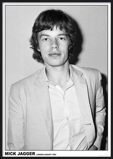 Plakát Mick Jagger - Rediffusion TV Studio, Wembley, London 27th August 1965