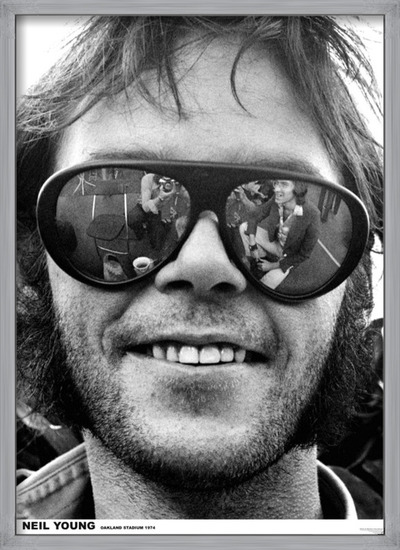 Plakát  Neil Young - Oakland 1974
