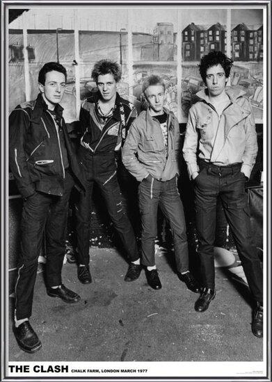 Plakát The Clash - London 1977