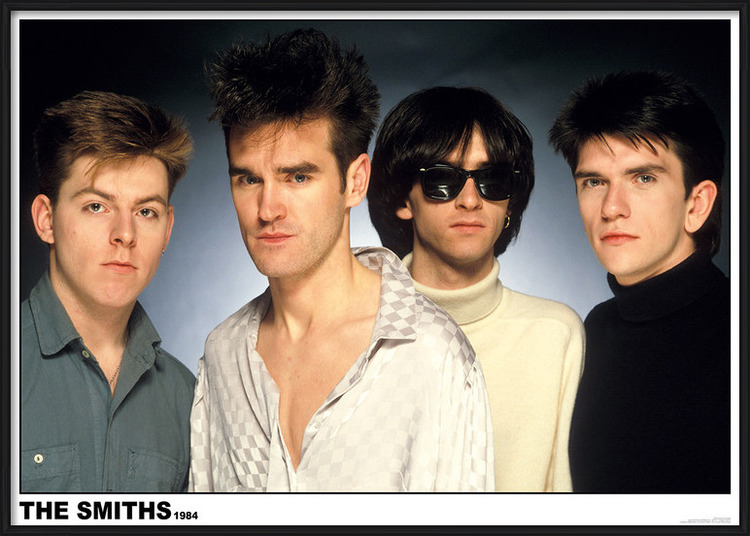 Plakát  The Smiths 1984