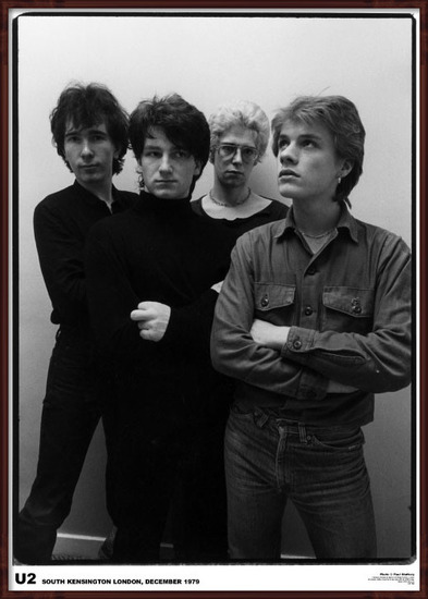Plakát  U2 - London '79