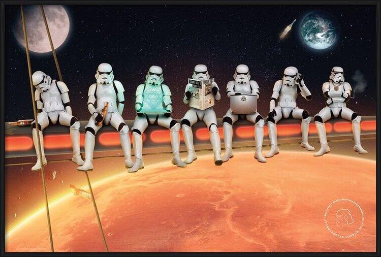 Plakát  Stormtrooper - On Girders