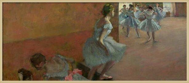 Obrazová reprodukce Dancers Ascending a Staircase, c.1886-88