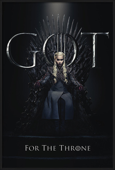 Plakát Hra o Trůny (Game of Thrones) - Daenerys For The Throne