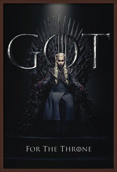 Plakát Hra o Trůny (Game of Thrones) - Daenerys For The Throne