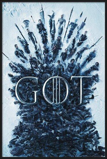 Plakát  Hra o Trůny (Game of Thrones) - Throne Of The Dead