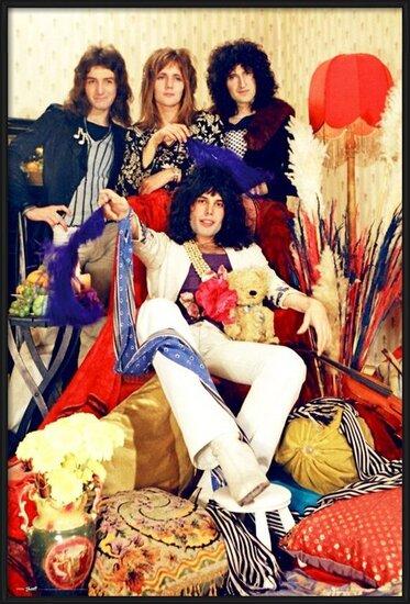 Plakát  Queen - Band