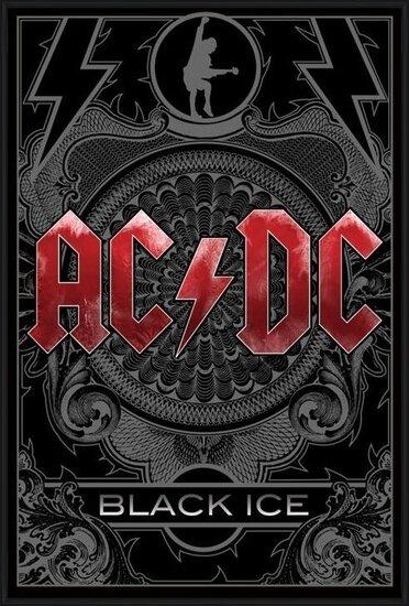 Plakát  AC/DC - black ice