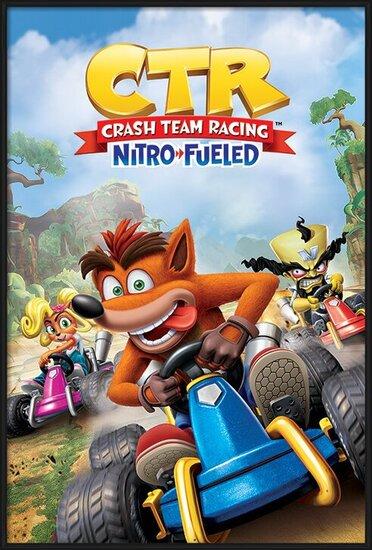 Plakát  Crash Team Racing - Race