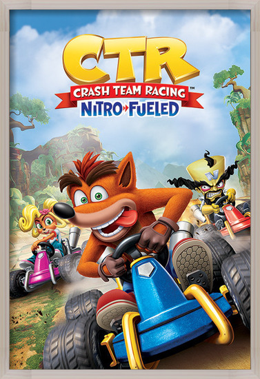 Plakát Crash Team Racing - Race