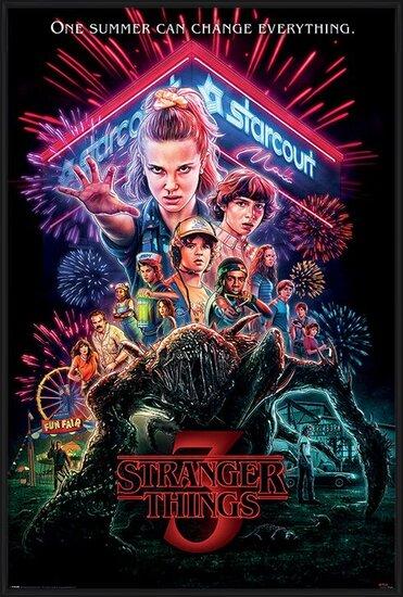 Plakát  Stranger Things - Summer of 85