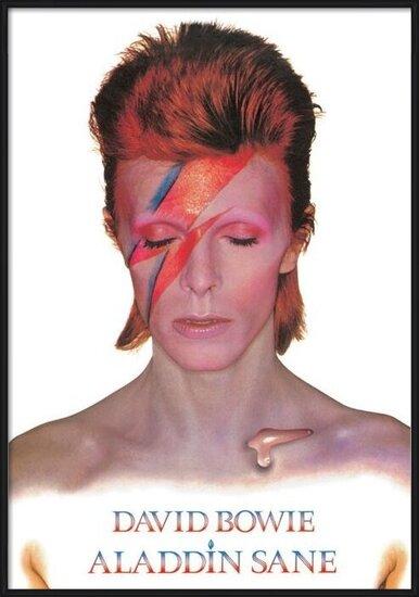 Plakát David Bowie - Aladdin Sane