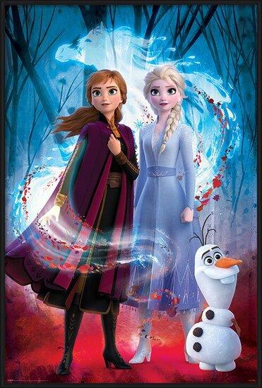 Plakát Ledové království 2 (Frozen) - Guiding Spirit