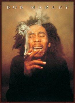 Plakát  Bob Marley - spliff