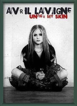 Plakát Avril Lavigne - under my skin