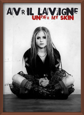 Plakát  Avril Lavigne - under my skin