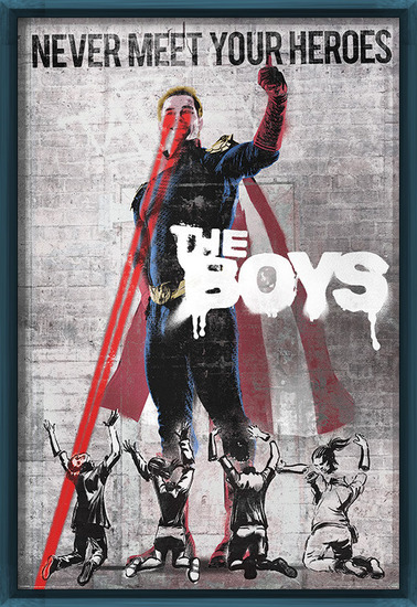 Plakát The Boys - Homelander Stencil