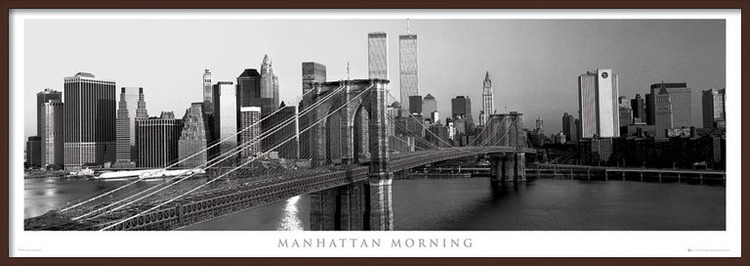 Plakát  Manhattan - morning