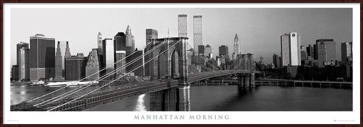 Plakát  Manhattan - morning