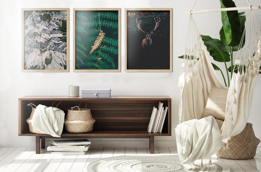 Umělecká fotografie One dry fern blade