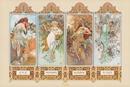Alfons Mucha - čtvero ročních období