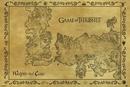 Hra o Trůny (Game of Thrones) - mapa starý styl