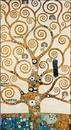 Strom života - vlys z paláce Stoclet, 1909