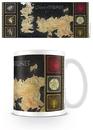 Hra o Trůny (Game of Thrones) - mapa