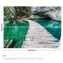Dřevěný most, laguna