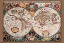 Mapa světa - 17. století