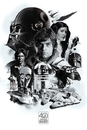 Star Wars - Montage (40th Anniversary )