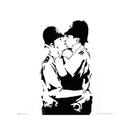 Banksy - Bobbies Kissing
