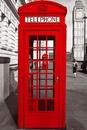 Londýn - telephone box