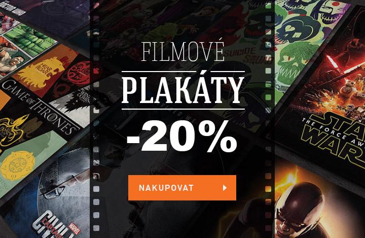 Filmové plakáty sleva 20%